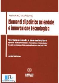 elementi di politica aziendale e innovazione tecnologica