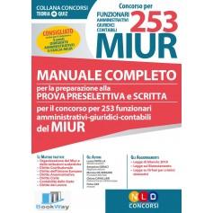 concorso per 253 miur funzionari amministrativi giuridici contabili