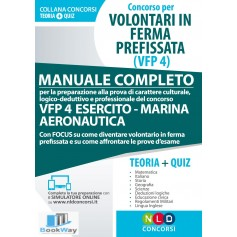 concorso per volontari in ferma prefissata (vfp 4)