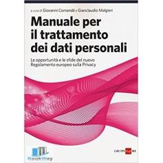 manuale per il trattamento dei dati personali