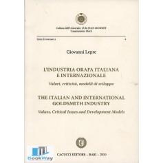 l'industria orafa italiana e internazionale