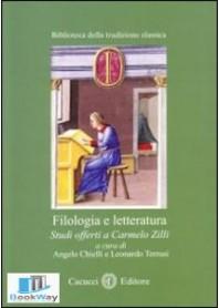 filologia e letteratura