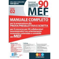 concorso per 90 collaboratori amministrativi con orientamento economico aziendale e contabile