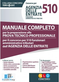 concorso per 510 agenzia delle entrate funzionari amministrativo tributari