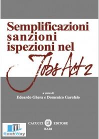 semplificazioni sanzioni ispezioni nel jobs act 2