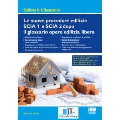 le nuove procedure edilizie scia1 e scia2 dopo il glossario opere edilizia libera