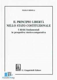 il principio liberta' nello stato costituzionale