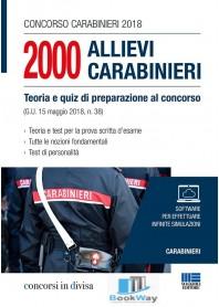 2000 allievi carabinieri concorso 2018