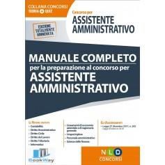 concorso per assistente amministrativo