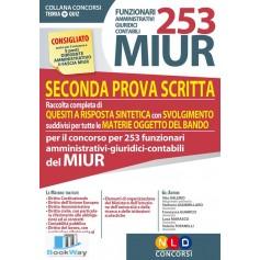 253 miur funzionari amministrativi giuridici contabili