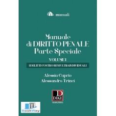 manuale di diritto penale - parte speciale volume i