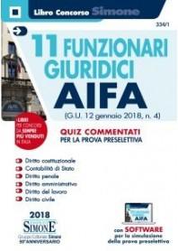 11 Funzionari Giuridici AIFA di AA.VV.