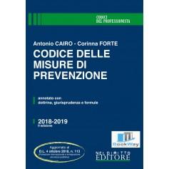 codice delle misure di prevenzione 2018-2019