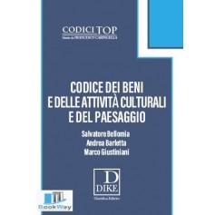 codice dei beni e delle attivita' culturali e del paesaggio