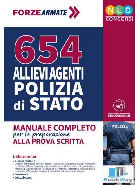 654 allievi agenti polizia di stato
