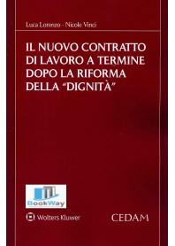nuovo contratto di lavoro a termine dopo la riforma della dignita' (il)