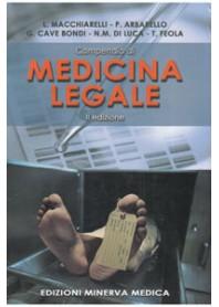 Compendio Medicina Legale Macchiarelli, Arbarello, Cave Bondi, Di Luca, Feola