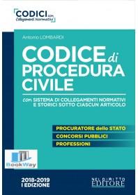 codice di procedura civile 2018-2019