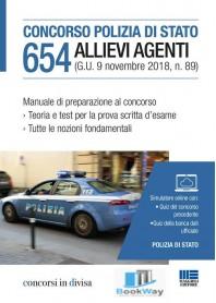 concorso polizia di stato 654 allievi agenti