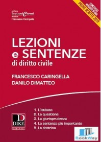 lezioni e sentenze di diritto civile