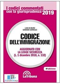 codice dell'immigrazione 2019