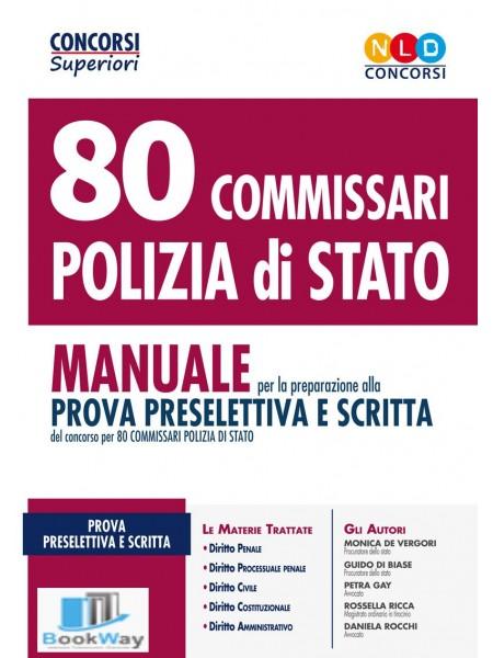 80 commissari polizia di stato
