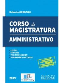 CORSO DI MAGISTRATURA - AMMINISTRATIVO 2019