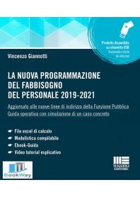 la nuova programmazione del fabbisogno del personale 2019-2021