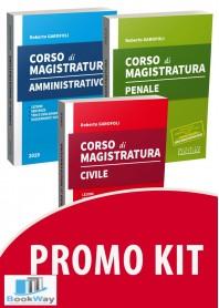 kit corso di magistratura 2019 - civile, penale, amministrativo