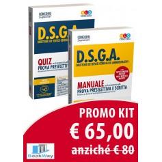 kit d.s.g.a. manuale + quiz