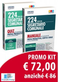 kit segretario comunale manuale e quiz