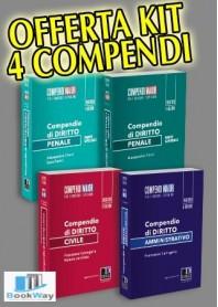 offerta kit 4 compendi maior 20182019
