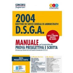 2004 posti per d.s.g.a. direttore dei servizi generali ed amministrativi