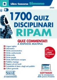 1700 Quiz Disciplinari RIPAM Quiz Commentati