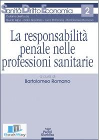 la responsabilita' penale nelle professioni sanitarie