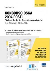 CONCORSO DSGA 2004 POSTI - DIRETTORE DEI SERVIZI GENERALI E AMMINISTRATIVI
