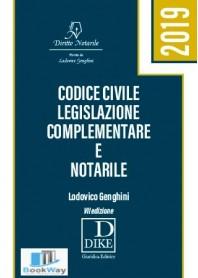codice civile legislazione complementare e notarile 2019