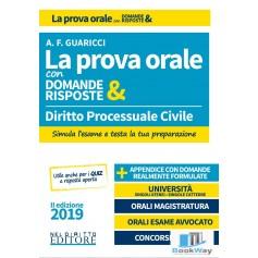 la prova orale con domande & risposte - diritto processuale civile 2019