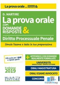 la prova orale con domande & risposte - diritto processuale penale 2019