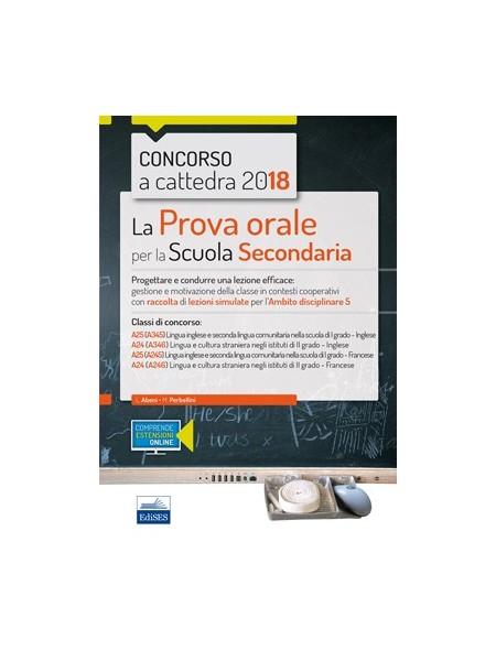 CC4/32 Concorso a Cattedre La Prova Orale Ambito Disciplinare 5 Lingua Straniera