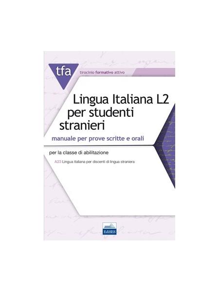 TFA Lingua Italiana L2 PER Studenti Stranieri Manuale T32