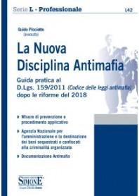 La Nuova Disciplina Antimafia di Picciotto