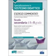 Concorso a Cattedre la Specializzazione in Sostegno Didattico Esercizi Commentati Secondaria di Capobianco, Trizio