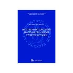 Investimenti Internazionali, Protezione dell'Ambiente e Sviluppo Sostenibile di Montini