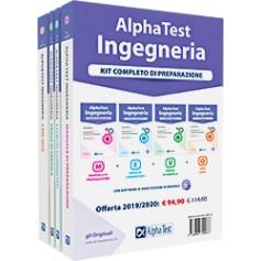Alpha Test Ingegneria Kit Manuale, Esercizi, Prove e Quiz
