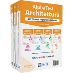 Alpha Test Architettura Kit Manuale, Esercizi, Prove e Quiz