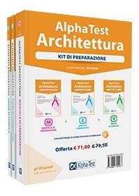 Alpha Test Architettura Kit Manuale, Esercizi e Prove