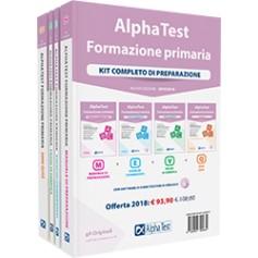Alpha Test Formazione Primaria Kit Manuale, Esercizi, Prove e Quiz