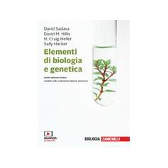 Elementi di Biologia e Genetica di Sadava, Hillis, Heller, Hacker