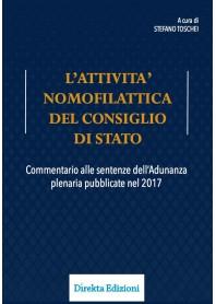 Attività Nomofilattica del Consiglio di Stato  di Toschei